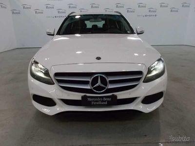 brugt Mercedes C220 SW d Business 4matic auto 9