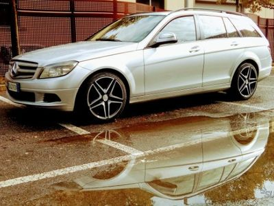 gebraucht Mercedes C220 tenuta bene Cerchi da 18 AMG