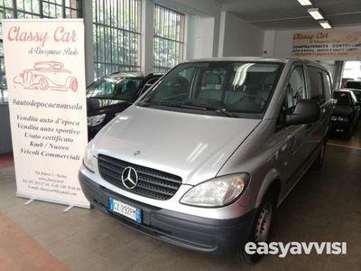 begagnad Mercedes Vito mixto vetrato 111 cdi diesel