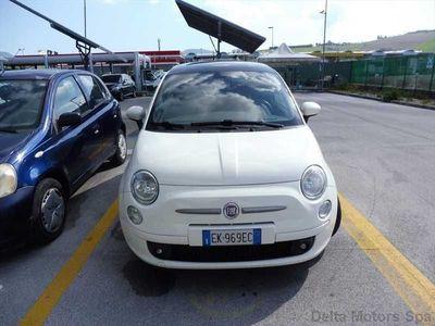 usata Fiat 500 Benzina 0.9 t.air t. Matt Black 85cv