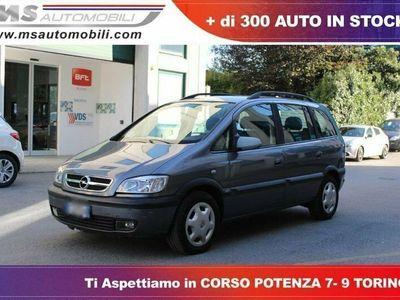 usata Opel Zafira 2.0 16v dti elegance 7 posti unicoproprietario diesel