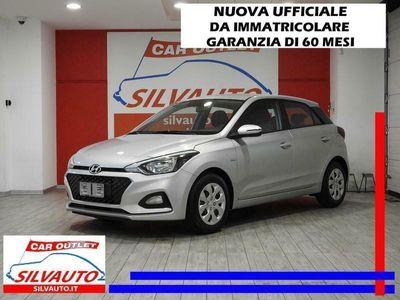 usata Hyundai i20 1.2 MPI GPL ECONEXT ADVANCED 75 CV - NUOVA UFFICIALE DA IMMATRICOLARE - GARANZIA DELLA CASA MADRE 60 MESI - MY 20