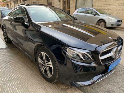 usata Mercedes E220 Business Sport COUPE TETTO/LED/CAMERA/NAVI PERF.
