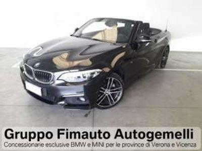 usata BMW 220 d Cabrio Msport Aut. Diesel