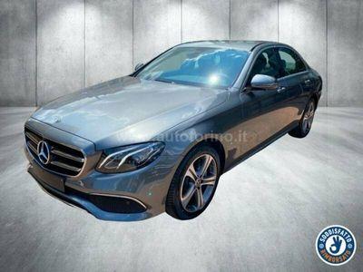 usata Mercedes E220 CLASSE E BERLINA4MATIC Auto BUSINESS SPORT
