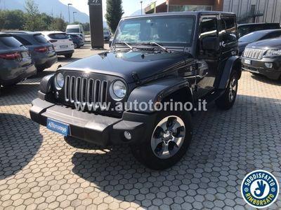 brugt Jeep Wrangler WRANGLER2.8 crd Sahara auto E6