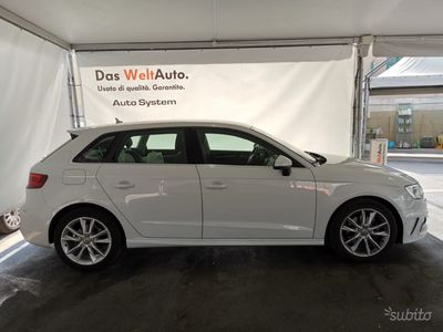 usata Audi A3 Sportback g-tron s-tronic Automatica