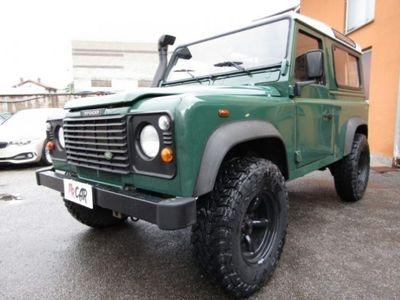 brugt Land Rover Defender 90 2.5 Td5 Station Wagon 3 POSTI GANCIO TRAINO