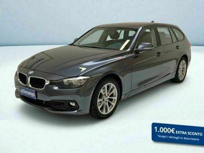 usata BMW 320 Serie 3 Touring d Business Advantage del 2017 usata a Crema