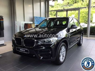 usata BMW X3 xdrive20d advantage