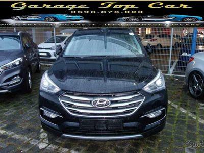 used Hyundai Santa Fe blu 2.2 CRDI 2WD
