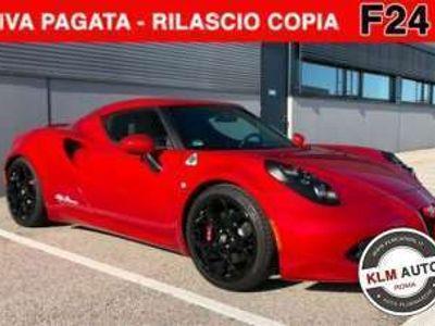 usata Alfa Romeo 4C 1750 TBi *PRONT.CONS.GARAN.24 MESI* Benzina