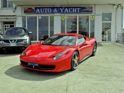 used Ferrari 458 Italia DCT Garanzia New Power contract 12 mesi