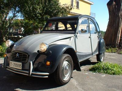 usata Citroën 2CV iscritta registro storico ASI - 1985