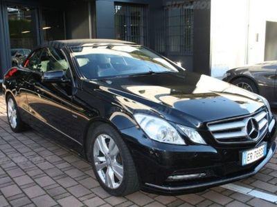 usata Mercedes 350 Classe E CabrioBlueTEC Cabrio Premium usato