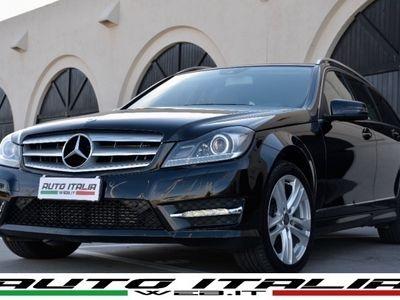"usata Mercedes C200 CDI SW AVANTGARDE+PELLE+NAVI+XENO+17""+LED+TEL."