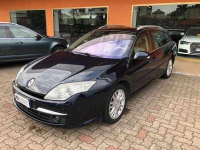 usata Renault Laguna 2.0 dCi 150CV SporTour Initiale NAVY TETTO PELLE