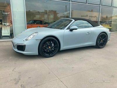usata Porsche 911 Carrera Cabriolet 991 911 3.0 MK2 nazionale 370cv