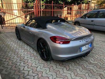 usata Porsche Boxster Spyder 981