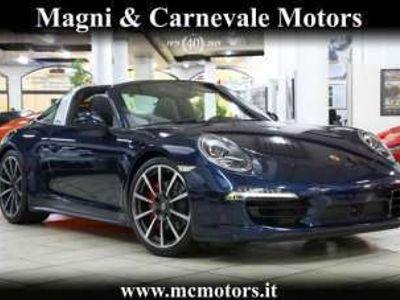 usata Porsche 991 TARGA 4S|BOSE|PELLE|ADAPTIVE CRUISE|PDLS|TELECAMER Benzina