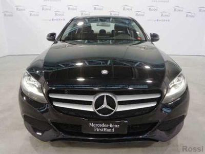 usado Mercedes C180 d Business (BT) auto