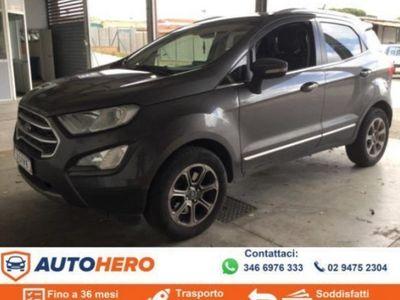 brugt Ford Ecosport 1.5 TDCi 100 CV Titanium EURO6B
