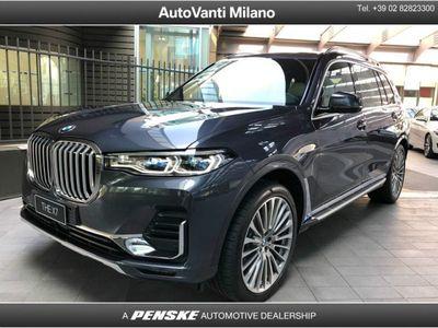usata BMW X7 xDrive30d del 2019 usata a Milano