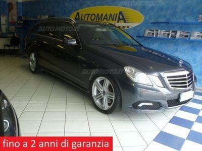 usata Mercedes 350 Classe E Station WagonCDI BlueEFF. 4MATIC Avantg. usato