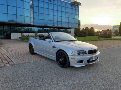 usata BMW M3 Cabriolet M3 E46 SMG2 SCHNITZER fatture dimostrab