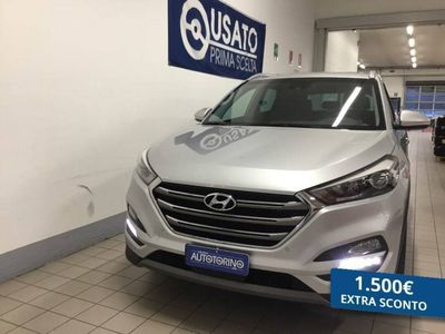 usata Hyundai Tucson TUCSON1.7 crdi Xpossible 2wd 115cv