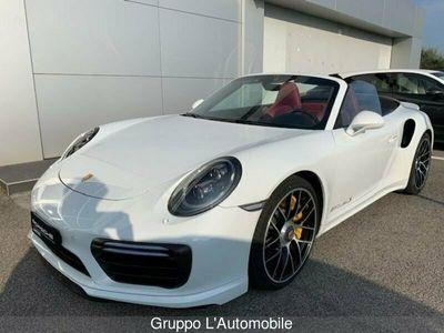 usata Porsche 911 Carrera Cabriolet 911 VII 991 2016 Cabrio 3.8 Turbo S 580cv auto