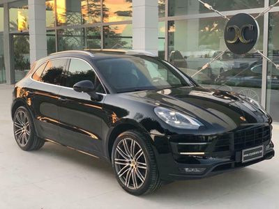 usata Porsche Macan Turbo 3.6 my 2017 LED/TETTO/PASM 1BK/PACK SPORT