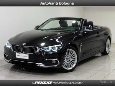 usata BMW 420 d Cabrio Luxury