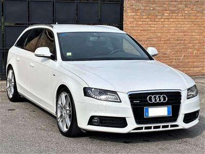 usata Audi A4 3.0TDi quat-est/int-S-Line-Navi,Pelle,Xeno