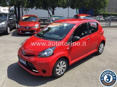 begagnad Toyota Aygo AYGO1.0 Active connect 5p my14