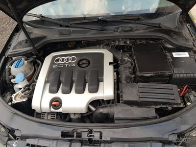 usata Audi A3 2.0 140cv diesel 2005 con gancio traino