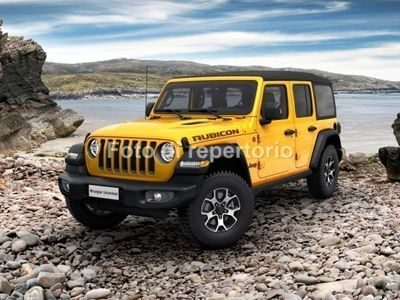 used Jeep Wrangler Unlimited Wrangler Unl.JL 2.2 Mjet II 200CV Rubicon 4WD A8