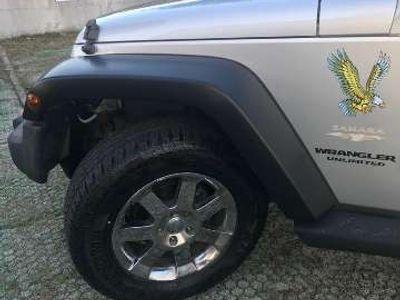 usata Jeep Wrangler Unlimited CRD sahara automatico (hard e soft top)