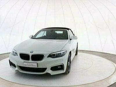 usata BMW 220 Serie 2 Cabrio Mod. d Cabrio Msport