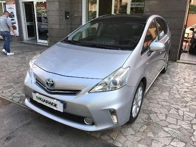 begagnad Toyota Prius+ hybrid lounge rate e permute