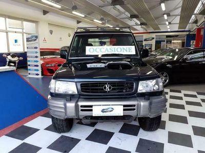 usata Hyundai Galloper 2.5 TDI Corto EXCEED 4X4 PEDANE GANCIO TRAINO