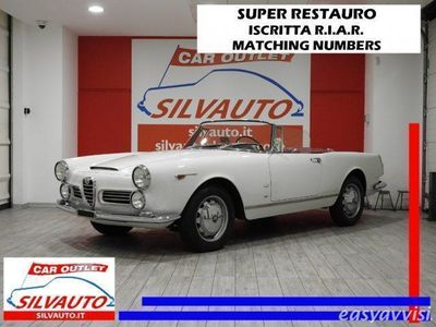 gebraucht Alfa Romeo 2600 giuliettaspider touring tipo 106.01 iscritta r.i.a.r. benzina