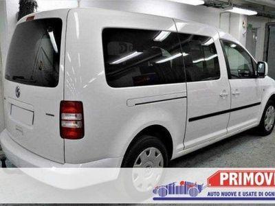used VW Caddy Maxi 2.0 Ecofuel Life TGI 7 posti,clima,bluetooth,
