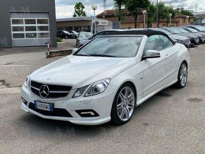 używany Mercedes 250 Classe E CabrioCDI Cabrio BlueEFFICIENCY Avantgarde usato