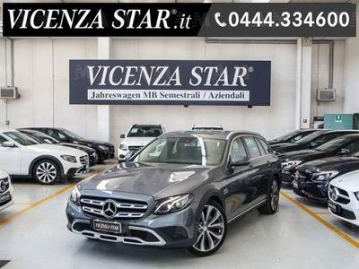 usata Mercedes 220 Classe E Station Wagond 4Matic Auto Sport All-Terrain del 2017 usata a Altavilla Vicentina