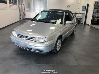 usata VW Golf Cabriolet 1.9 TDI/90 CV Highline del 2002 usata a Alessandria