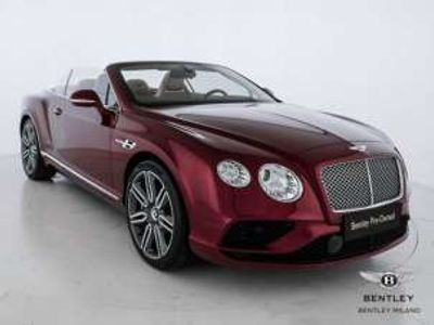 usata Bentley Continental GT W12 Convertible Benzina