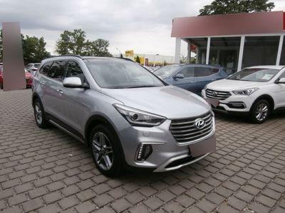używany Hyundai Grand Santa Fe Premium Blue 4wd 2.2 Crdi Technik-paket Sicherheits-paket Panoramadach