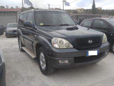 usata Hyundai Terracan 4x4 2.9 td 163 cv anno 2005