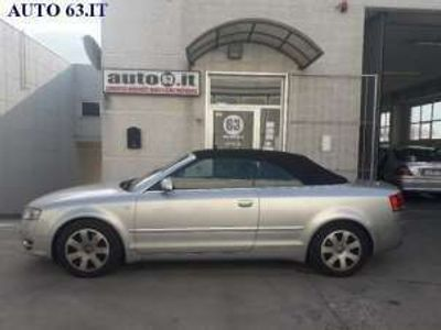 usata Audi A4 Cabriolet 3.0 TDI F.AP. qu. tipronic Diesel